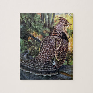 Ruffed Grouse in the Forest Jigsaw Puzzle