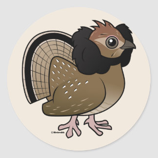 Ruffed Grouse Stickers