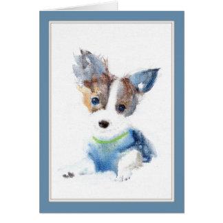 Ruffell the Dog Greeting Card