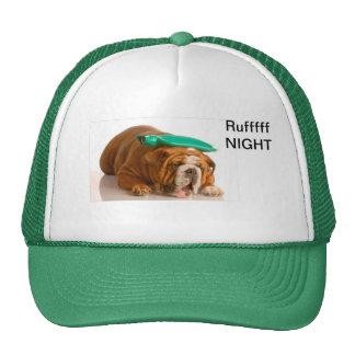 Ruffff Night Mesh Hats