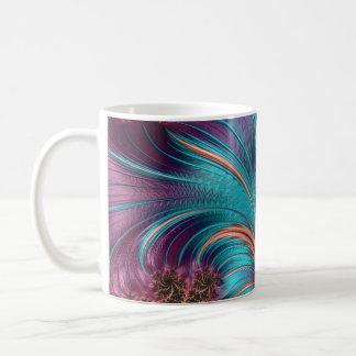 Ruffle A Few Feathers Fractal Art Coffee Mug