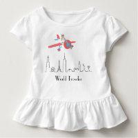 Ruffle Toddler T-shirt