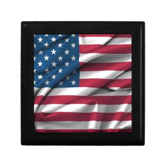 Ruffled America Flag Gift Box