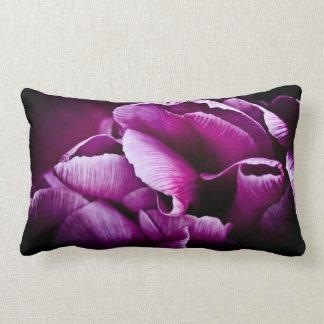 Ruffled Edge Tulips Pillow