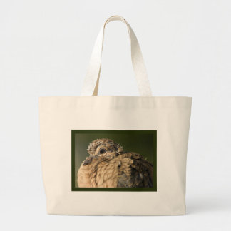 Ruffled Feathers Canvas Bag