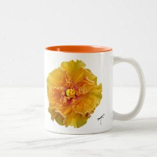 Ruffled Hibiscus Mug
