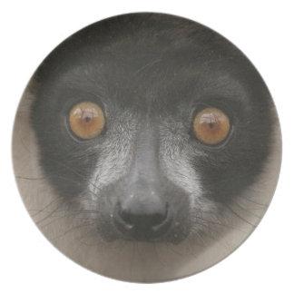 Ruffled Lemur Plate