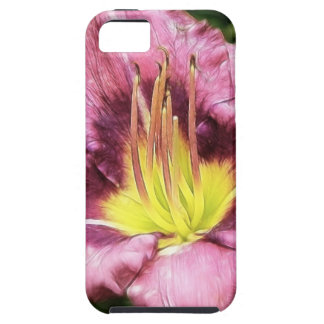 Ruffled Pink Daylily iPhone SE/5/5s Case