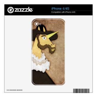 Ruffled Unicorn Skin For The iPhone 4S
