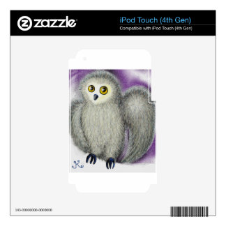 Ruffles the Owl Decal For iPod Touch 4G