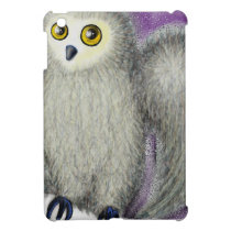 Ruffles the Owl iPad Mini Cover