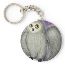 Ruffles the Owl Keychain