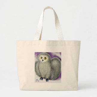 Ruffles the Owl Large Tote Bag
