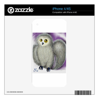 Ruffles the Owl Skin For The iPhone 4S