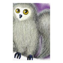 Ruffles the Owl Stationery