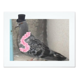 Ruffles the Show Pigeon! Card