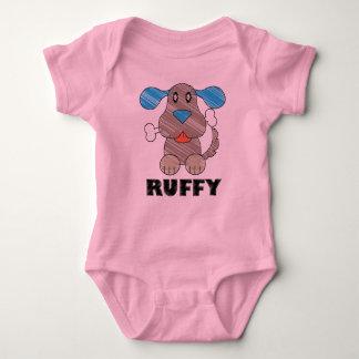 Ruffy - Baby Jersey Bodysuit T Shirt