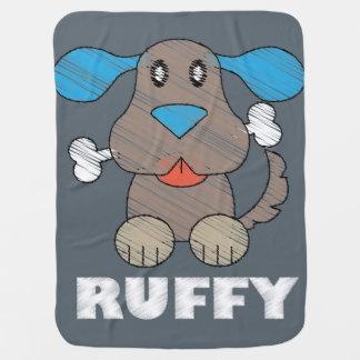 Ruffy -  combinado del bebé manta de bebé