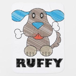 Ruffy -  combinado del bebé mantas de bebé