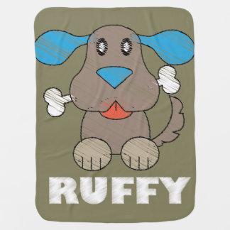 Ruffy -  combinado del bebé mantitas para bebé
