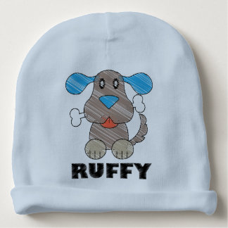 Ruffy - Custom Baby Cotton Beanie Baby Beanie
