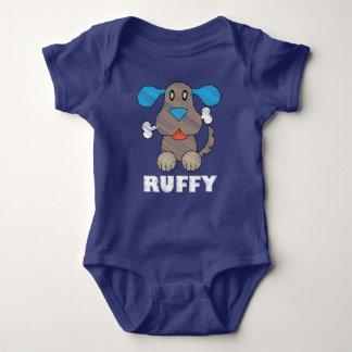 Ruffy -  del mono del jersey del bebé