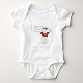 Ruffy joins the Bike Coalition! Baby Bodysuit