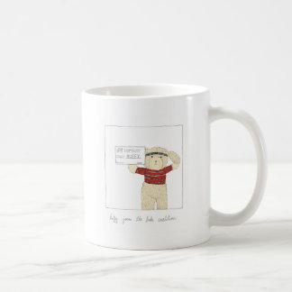 Ruffy Joins the Bike Coalition Classic White Coffee Mug
