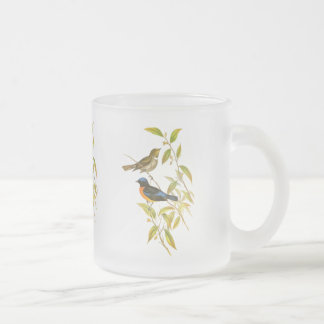 Rufous-bellied Niltava Frosted Glass Coffee Mug