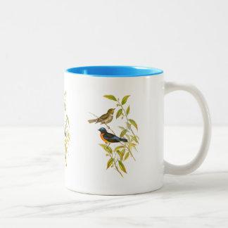 Rufous-bellied Niltava Two-Tone Coffee Mug