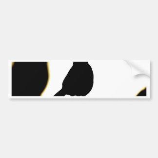 rufous bellied thrush bumper sticker