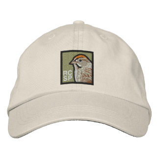 Rufous-crowned Sparrow. (non-distressed) Baseball Cap