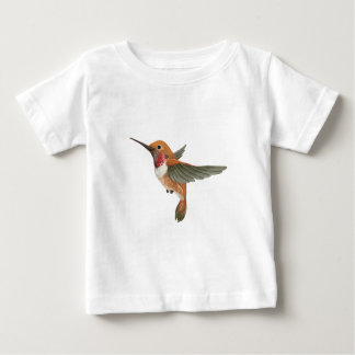Rufous Hummingbird Baby T-Shirt