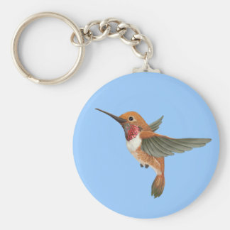 Rufous Hummingbird Keychain