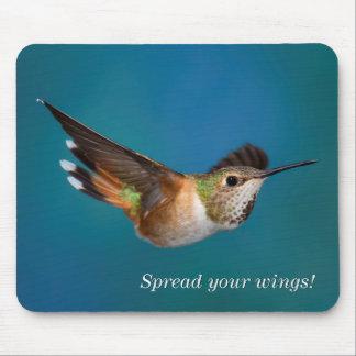 Rufous Hummingbird Mouse Pad