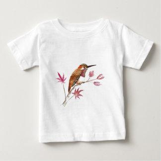 Rufous Hummingbird perching Baby T-Shirt