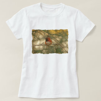 Rufous Hummingbird Sitting T-Shirt