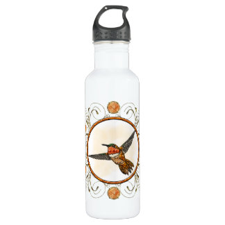 Rufous Hummingbird Water Bottle