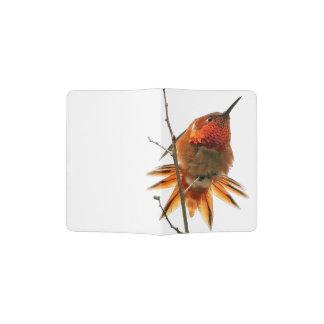 Rufous Hummingbird Wildlife Animal Passport Holder