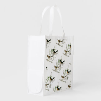 Rufous-sided Towhee by Audubon Grocery Bag
