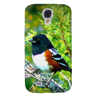 Rufous Sided Towhee Sparrow Samsung S4 Case