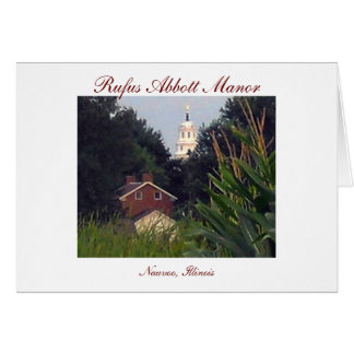 Rufus Abbott Manor Card