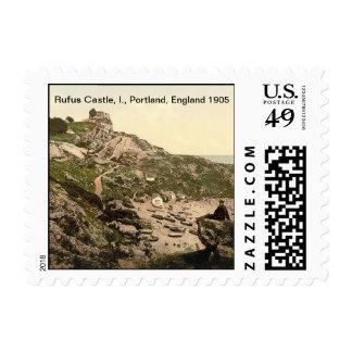 Rufus Castle, I., Portland, England 1905 Stamp