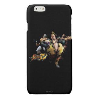 Rufus, El Fuerte & Zangief Glossy iPhone 6 Case