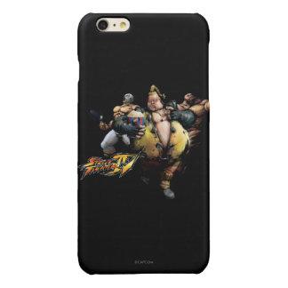 Rufus, El Fuerte & Zangief Glossy iPhone 6 Plus Case