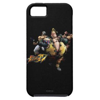 Rufus, El Fuerte & Zangief iPhone SE/5/5s Case