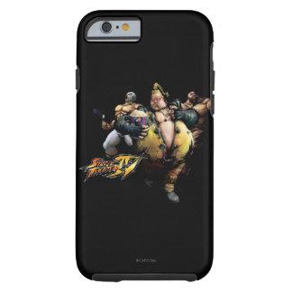 Rufus, El Fuerte & Zangief Tough iPhone 6 Case
