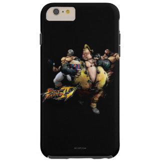 Rufus, El Fuerte & Zangief Tough iPhone 6 Plus Case