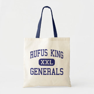 Rufus King - Generals - High - Milwaukee Wisconsin Budget Tote Bag