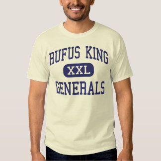 Rufus King - Generals - High - Milwaukee Wisconsin T-shirts
